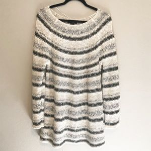 Style & Co Chunky Knit Long Sleeve Sweater